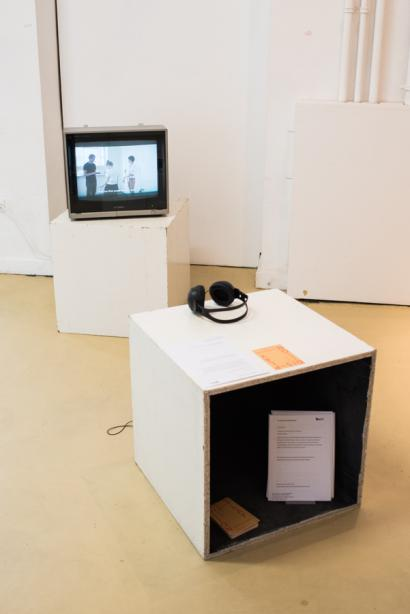Installation view, on display: Jennifer Gelardo, photo: Frithjof Kjer