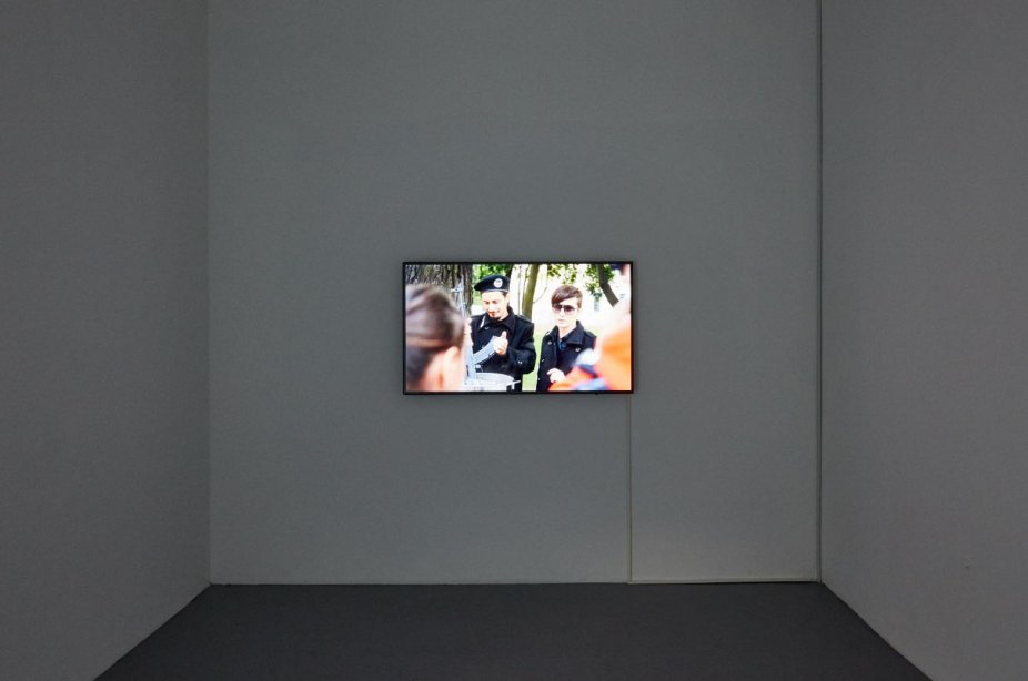 Bouillon Group, Porridge from a Kalashnikov, 2015, basis, installation view, 2018