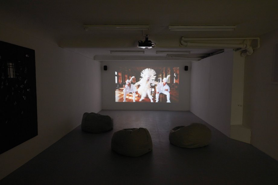 Installation View, Claus Richter - The Frankfurt Songbook, basis 2016, photo: Günther Dächert