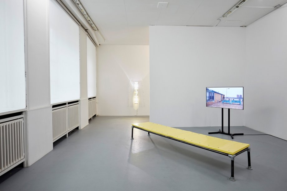 Installation View, Levent Kunt, basis 2016, Foto: Günther Dächert