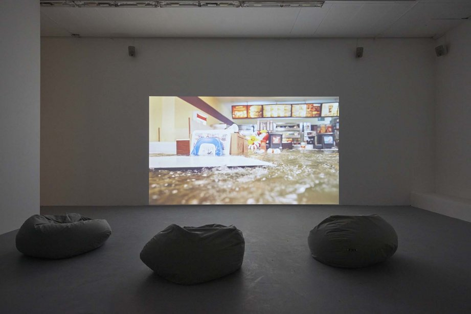 Superflex, Flooded McDonald´s, 2009, Installation view basis 2018, Foto: Günther Dächert