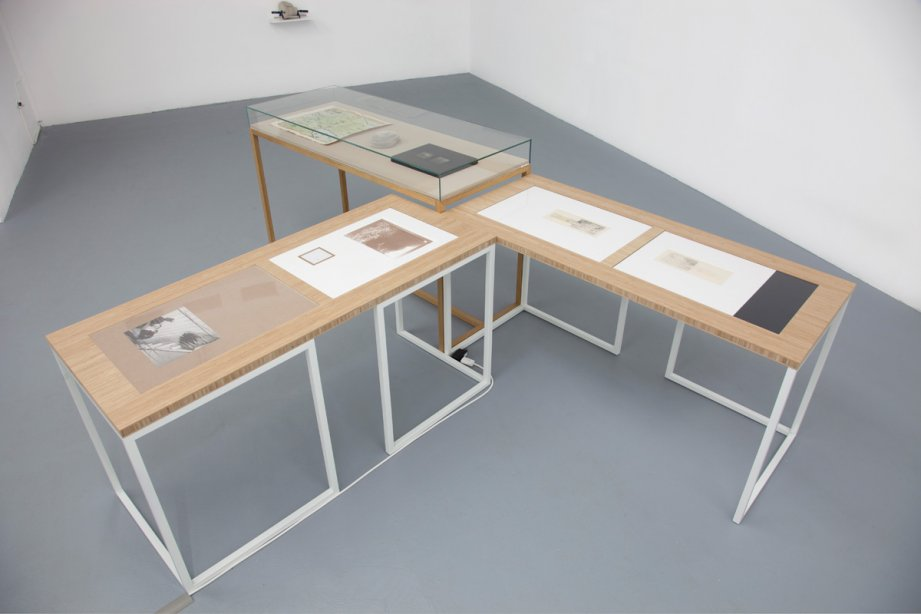 Installation View, Marianna Christofides - But see, even that is only appearance, basis 2015, photo: Günther Dächert