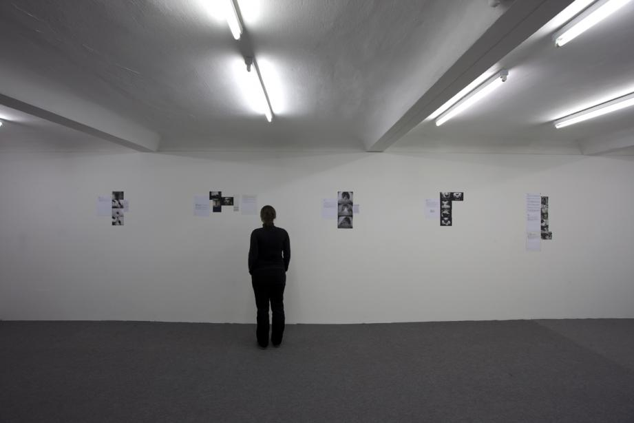Ausstellungsansicht, Vito Acconci, Early Works, 2010, Foto: Cem Yücetas
