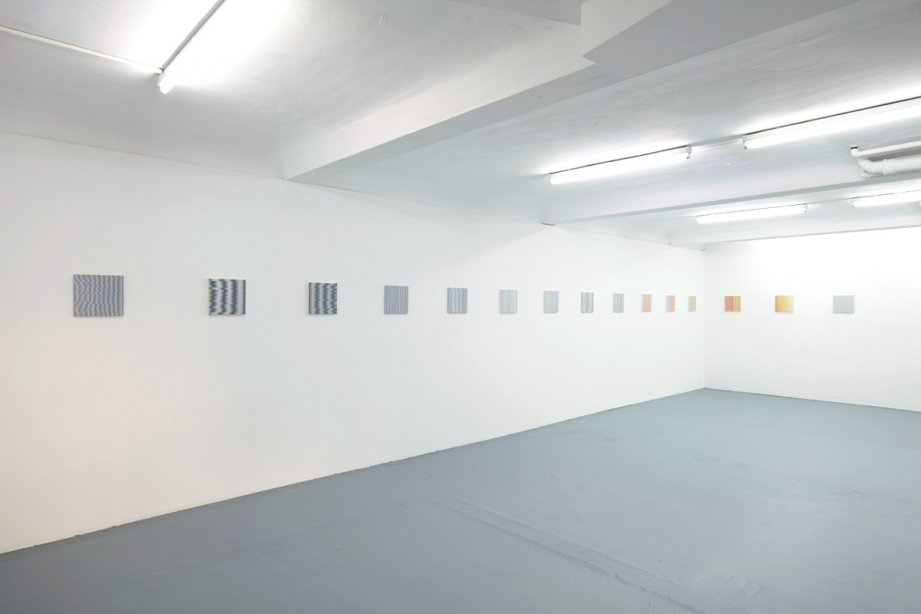 Installation view, Isabel Albrecht, basis 2017, Foto: Günther Dächert