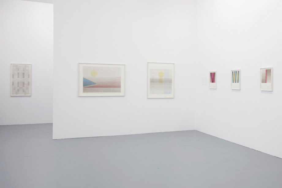 Installation view, Isabel Albrecht, basis 2017, photo: Günther Dächert