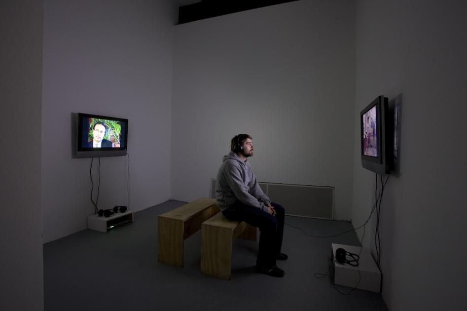 Exhibition view, Charlotte Ginsborg, Backwards and forewards in the everyday, 2009, photo: Cem Yücetas