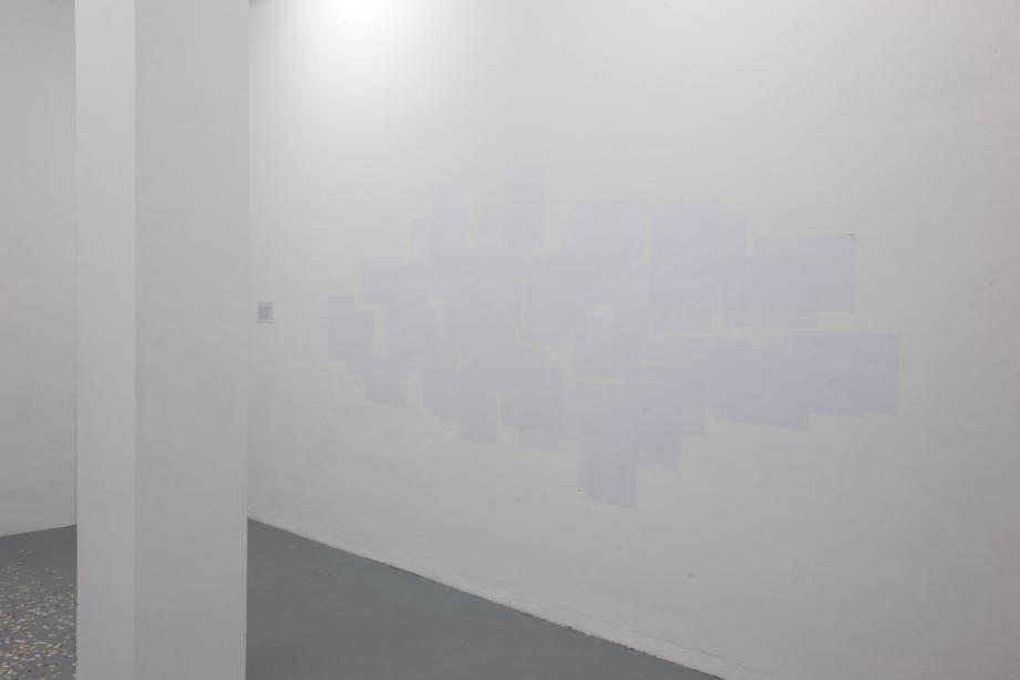 Exhibition view, Amalia Pica - On paper, basis 2012, photo: Cem Yücetas
