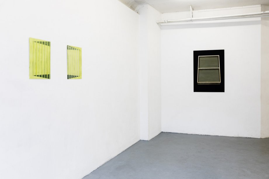 Installation view Caroline Gamon - Ailleurs/Elsewhere, basis 2019, Photo: Angelika Zinzow