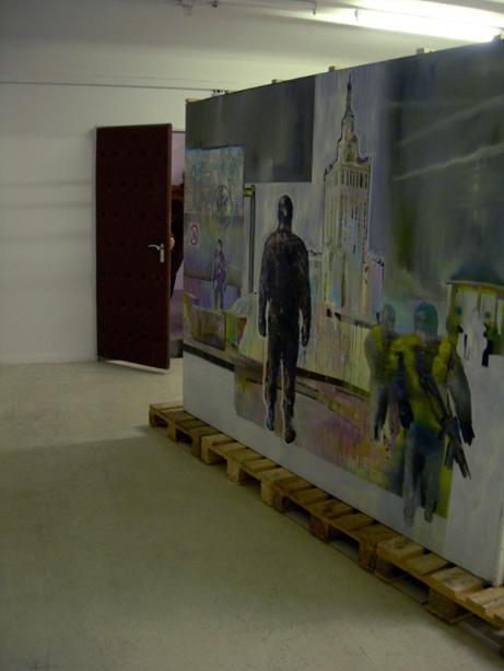 Ausstellungsansicht, Mister Security - Lukasz Chrobok / Christoph Faulhaber, basis 2007