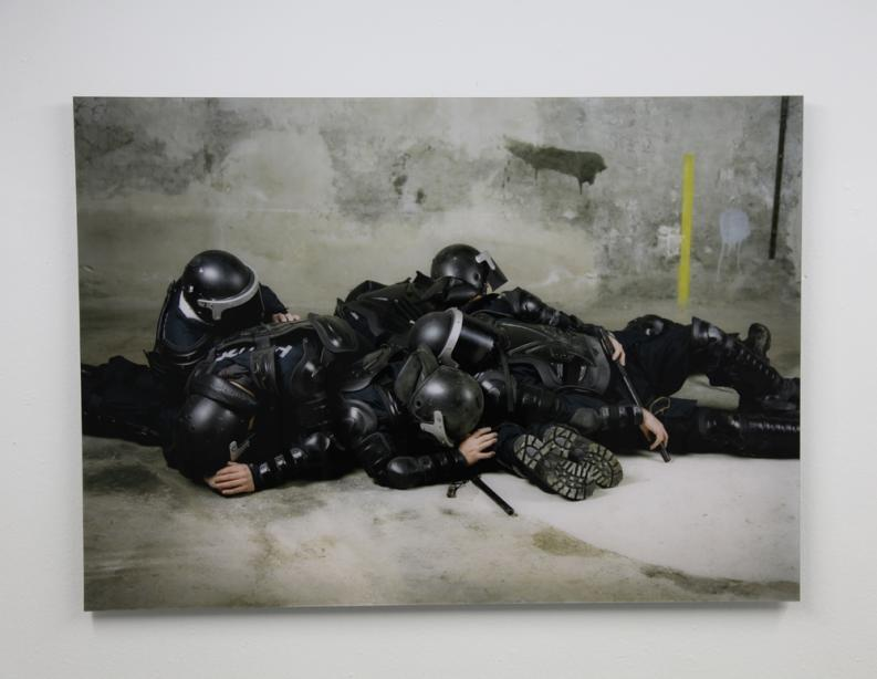 Oliver Ressler, We Have a Situation Here (2011), Installation view, photo: Amin Weber