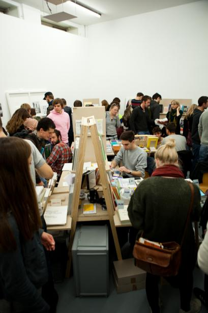 First Issue: Self-Publishing Fair for Design and Art, Foto: Christiane Feser