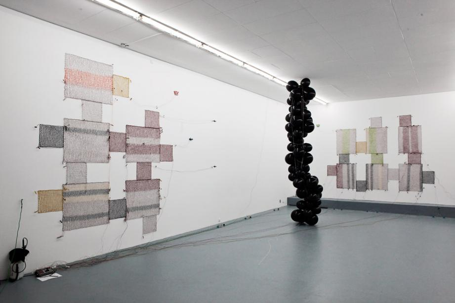 Installation view »Shadow« Sandra Kranich, 2010, photo: Diana Djeddi